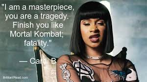 Cardi B Quotes Awesome 48 Best Cardi B Quotes On Life Love And Music Networth