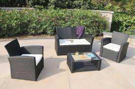 modern wood patio furniture. Marvelous Rattan Wicker Patio Set Astonishing Black And White Rectangle Modern Wooden Discount Furniture Wood