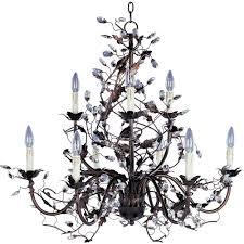 full size of maxim lighting elegante light oil rubbed bronze chandelier crystal billie jo spears