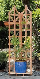 Small Picture Amazoncom Arboria Deco Garden Trellis Cedar Wood 70 Inch Height