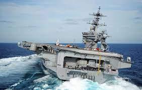 มึนตึ้บ!! USS CARL VINSON เรือบรรทุกเครื่องบินมะกันลอยลำห่างเป้าหมาย 5  พันกิโลเมตร