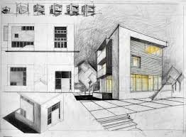 architecture house sketch.  Sketch Cube House Architectural Drawing And Architecture Sketch S