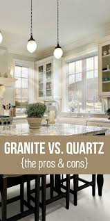 Kitchen Countertops Granite Vs Quartz Granite Vs Quartz Countertops Learn The Pros And Cons Home