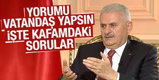 Başbakan Yıldırım 15 Temmuz gecesi yaşananları anlattı
