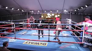 Miguel Fields v. Joshua Conley Boxing Exhibition 2013 - YouTube