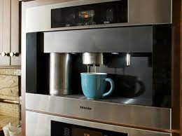 decorating with wall coffee maker