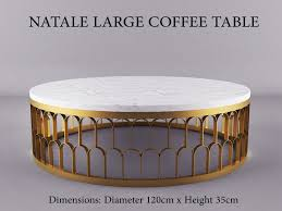 Gold and marble side table,gold console cabinet,gold console table,gold and side tables sale buy now small furniture and dcor across all styles you want dont be dramatic as a silver finish white coffee tables while. 3d Model Natale Large Gold Andwhite Marble Coffee Table