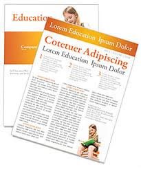 Education Newsletter Templates Learning Newsletter Template