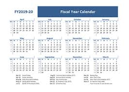 Calendar Year Quarters Printable 2019 Fiscal Year Calendar Template Calendarlabs