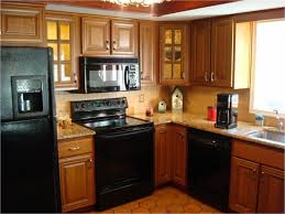 Finished Cabinet Doors Kitchen Room Design Quality Oak Finished Wooden Kitchen Cabinets