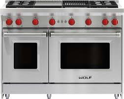 wolf 48 inch range. Contemporary Range Wolf 48 Inch Double Oven Range  Stainless Steel LPGR484CGLP Intended Inch N