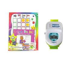 Walmart Time Clock Chart Kenson Kids Potty Training Chart Set With Potty Watch Pink Green