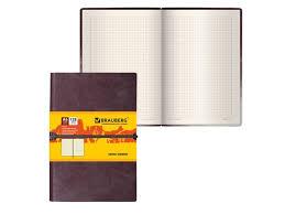 <b>Бизнес</b>-<b>блокнот Brauberg Western А6</b> 128 листов Brown 125241 ...