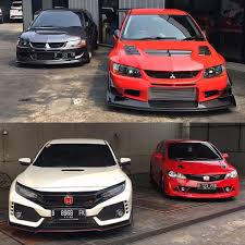 Honda Civic Design Evolution Jdm Brothers Which Side Are You Teamevo Or Teamcivic