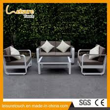modern hotel home leisure sofa set comfortable table and chair aluminum garden outdoor furniture