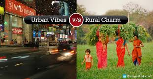 which life is better rural or urban village life vs city life  life in a village
