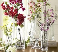 alternate view pottery barn glass vase large voluminous vases