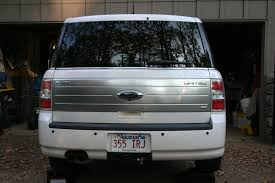 ford flex factory hitch project unknown dog finished product
