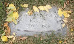 Rebecca Madge Mayer Fulton (1893-1984) - Find A Grave Memorial