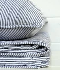 Ticking Stripe Duvet Cover Black Grey Ticking Duvet Covers Ticking ... & Ticking Stripe Duvet Cover Black Grey Ticking Duvet Covers Ticking Stripe  Handstitched Quilts Limited Edition Ticking Duvet Covers Adamdwight.com