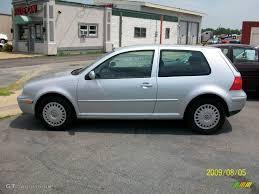 2001 Satin Silver Metallic Volkswagen Golf GL 2 Door #15581275 ...
