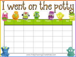 daily potty training chart potty training chart