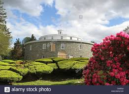 the round barn at heritage museum and gardens in sandwich massachusetts