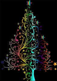 large transparent green with ornaments png large christmas tree no  background transparent green with ornaments png