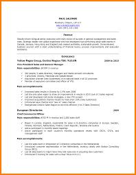 Canada Resume Example Canada Resume Exampleformidable International Experience Canada 31