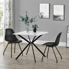 Encasa Esstisch 2 Stühle Küchentisch Esszimmertisch Essgruppe