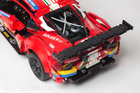 Having delivered prestigious wins for the prancing horse in the world's. Lego Technic Review 42125 Ferrari 488 Gte Af Corse 51 New Elementary Lego Parts Sets And Techniques