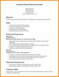 Resume Examples Skills And Abilities Free Download Samples Fo