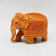 Elephant With <b>Miniature Carving</b> | 27WW17 | Craft House India