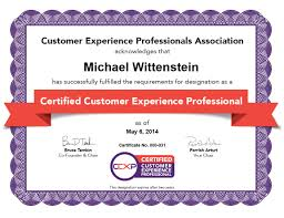 The Certified Customer Experience Professional Ccxp Designation