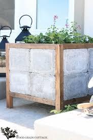how to make a paver planter full tutorial