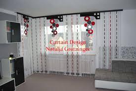 Wohnzimmer Fenster Gardinen Modern