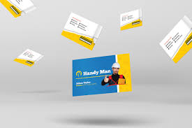 handyman business handyman business card template for photoshop illustrator