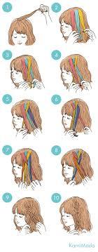 イラストで見るヘアケアヘアアレンジー髪のお悩みやケア方法の解決なら