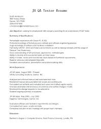 Tester Resume Samples Manual Testing Sample Resume Manual Testing Resumes Manual Testing