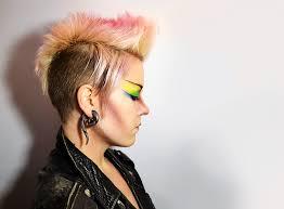 tutorial punk rock makeup black lipstick black nail 80 s color punk forever 11