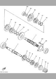 2002 yamaha bear tracker 250 2wd yfm250xp transmission parts best
