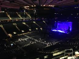 concert madison square garden. Concert Seat View For Madison Square Garden Section 208,