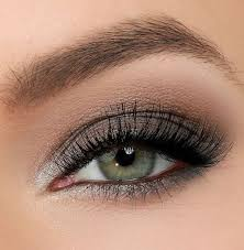 grey and silver shades will definitely make your green eyes pop whether they are lighter or darker green because of the smokey effect and the shimmery