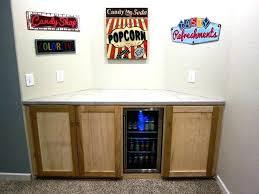 Diy Fridge Mini Cabinet Refrigerator Surround Building In  With Slide Bearings Shelf Replacement Diy Mini Fridge Cabinet R73