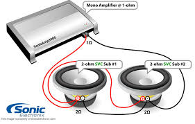dvc 1 ohm wiring diagram wiring diagrams and schematics jl audio header support tutorials tutorial wiring dual dvc parallel