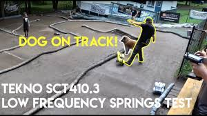 Tekno Sct410 3 Low Frequency Spring Test And A Main Race Netcruzer Rc