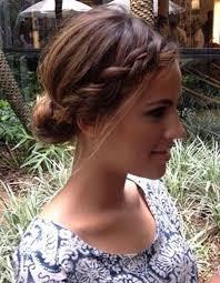 Coiffure Pour Mariage Cheveux Mi Long Tresse