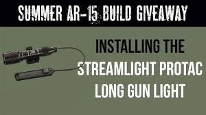 Rail Mounted Light For Ar 15 Ar 15 Series How To Install The Streamlight Protac Rail Mounted Light