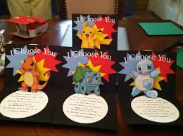 Cricut birthday card projects ~ Cricut birthday card projects ~ Cricut pokemon pop up birthday invitation made this so once the