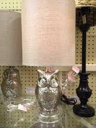 Hobby Lobby Vanity Lights I Love This Mercury Glass Owl Lamp From Hobby Lobby Owl